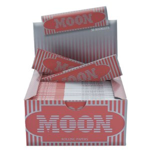 PAPEL DE SEDA MOON RED KING SIZE (CAIXA COM 50)