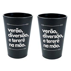 KIT 2 COPOS DE TERERÉ PLÁSTICO 330ML NOSSO TERERÊ