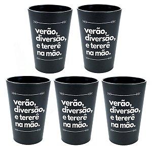KIT 5 COPOS DE TERERÉ PLÁSTICO 330ML NOSSO TERERÊ