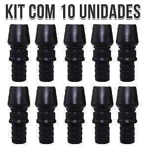 KIT 10 CONTRA PITEIRA DE SILICONE UNIVERSAL BLACK NARGUILE