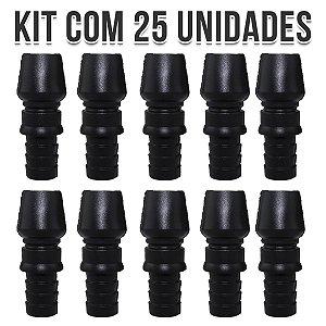 KIT 25 CONTRA PITEIRA DE SILICONE UNIVERSAL BLACK NARGUILE