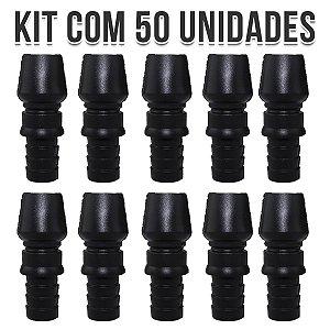 KIT 50 CONTRA PITEIRA DE SILICONE UNIVERSAL BLACK NARGUILE