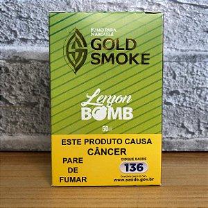 ESSÊNCIA GOLD SMOKE 50g LEMON BOMB (LIMÃO)