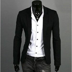 Blazer Slim Fit Masculino Casual