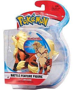 Pokemon Figuras De Ação - Arcanine 10cm