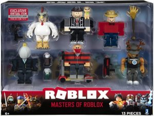 Roblox Pack Com 6 Figuras - Masters Of Roblox