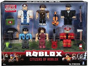 Roblox Pack Com 6 Figuras - Citizens Of Roblox