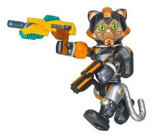 Roblox Figuras 3 Celebrity - Cats...in Space Sergeant Tabbs