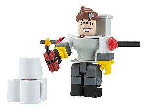 Roblox Figura Articulada De 3 - Mr. Toilet