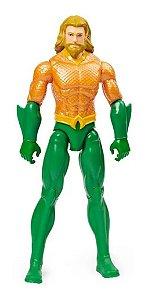 Boneco Articulado Aquaman 30 Cm