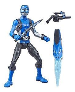 Figura Básica Power Rangers Beast Morphers Ranger Azul 15cm