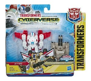 Figura Transformers Spark Armor - Jetfire e Tank Cannon