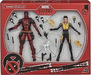 Figura Marvel Legends Series X-men Deadpool E Negasonic