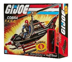 G.i.joe Cobra F.a.n.g Veículo Retro Piloto Inimigo