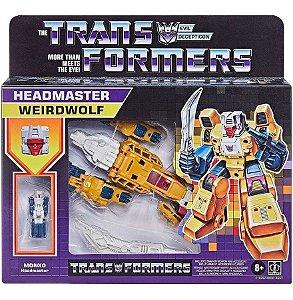 Figura Transformers Monxo Headmaster Weirdwolf 14cm