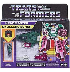 Figura Transformers - Grax Headmaster Skullcruncher 14cm