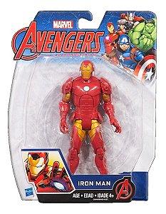 Boneco Articulado Marvel Avengers 15cm - Homem De Ferro