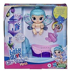 Baby Alive Glo Pixies Mini Aqua Flutter Hasbro Original