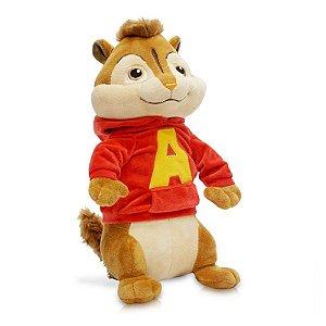 Pelucia Alvin E Os Esquilos 3 - Alvin P