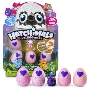Hatchimals Colleggtibles Season 2 Blister Com 4 Ovos + Brinde