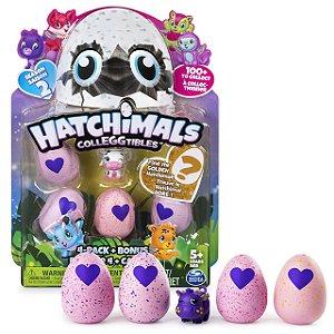 Hatchimals Colleggtibles Season 2 Blister Com 4 Ovos + Brinde