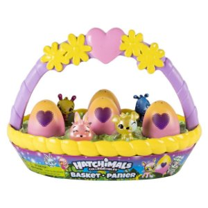 Hatchimals Colleggtibles Season 2 Cestinha + 2 Brindes