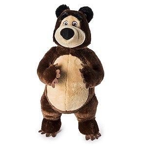 Masha E O Urso - Pelúcia com Sons Urso 30cm