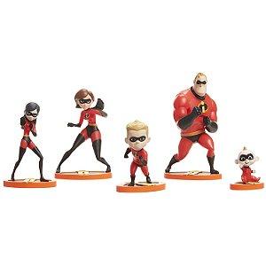 Os Incríveis 2 - Set com Figuras Família Incrível