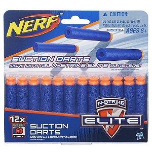 Refil Nerf N-Strike Elite - Sucção 12 Dardos - Hasbro