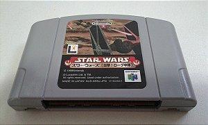 Game Para Nintendo 64 - Star Wars Rogue Squadron NTSC-J