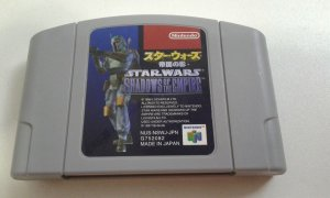Game Para Nintendo 64 - Star Wars Shadows Of The Empire NTSC-J