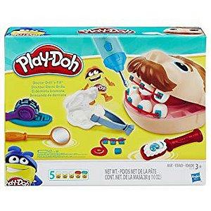 Play Doh Playset Brincando de Dentista - Hasbro
