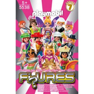 Playmobil 5538 - Figuras Surpresas Serie 7 Feminino Completo