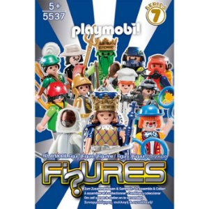 Playmobil 5537 - Figuras Surpresas Serie 7 Masculino Completo
