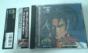 Game Para Neo Geo Cd - Samurai Spirits 2 com Spine Card