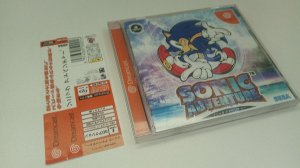 Game Para Sega Dreamcast - Sonic Adventure com Spine Card NTSC-J