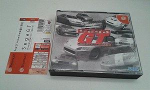 Game Para Sega Dreamcast - Sega Gt com Spine Card NTSC-J