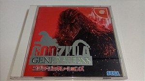 Game Para Sega Dreamcast - Godzilla Generations NTSC-J