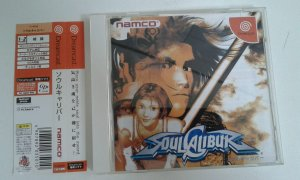 Game Para Sega Dreamcast - Soulcalibur com Spine Card NTSC-J