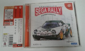 Game Para Sega Dreamcast - Sega Rally Championship 2 com Spine Card NTSC-J