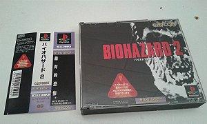 Game Para PS1 - Biohazard Resident Evil 2 c/ Spine Card NTSC-J