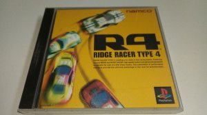 Game Para PS1 - R4 Ridge Racer Type 4 NTSC-J