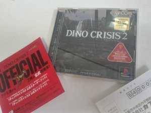 Game Para PS1 - Dino Crisis 2 NTSC-J