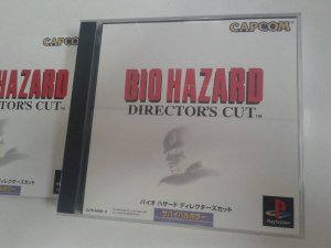 Game Para PS1 - Biohazard Resident Evil: Director's Cut  NTSC-J