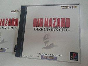 Game Para PS1 - Biohazard Resident Evil: Director's Cut  NTSC-J