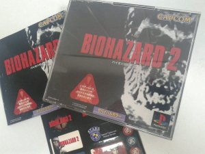 Game Para PS1 - Biohazard Resident Evil 2 NTSC-J