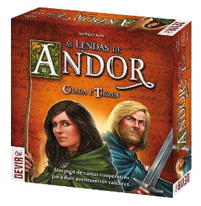 Jogo As Lendas De Andor Chada e Thron