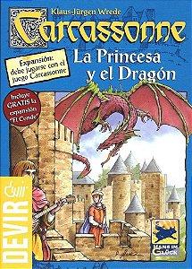 Jogo Carcassonne Expansão A Princesa e o Dragão