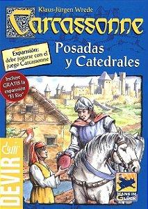 Jogo Carcassonne Expansão Estalagens e Catedrais