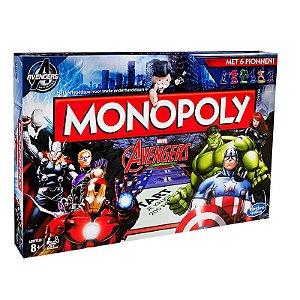 Jogo Monopoly - Avengers